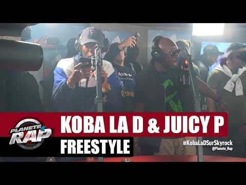 Koba LaD & Juicy P - Freestyle Planète Rap #PlanèteRap