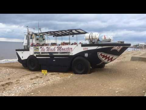 Hunstanton Beach The Wash Monster Pleasure-boat