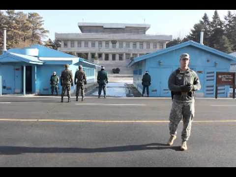 [COSMOJIN] JSA(Joint Security Area) in south korea tour-korea trip, tour in korea, korea tour