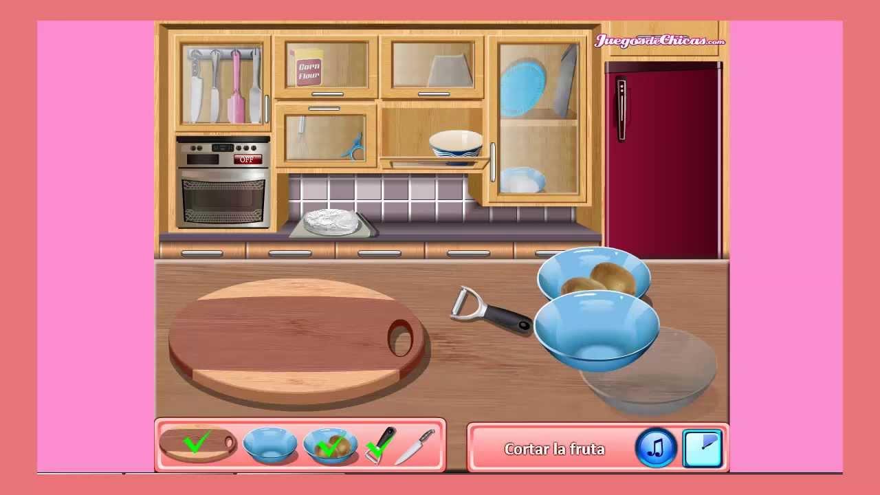 Juegos de cocina con sara tarta pavlova youtube for Cocina de navidad con sara