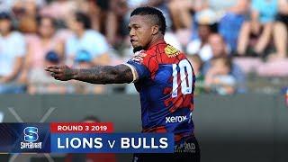 Lions v Bulls   Super Rugby 2019 Rd 3 Highlights