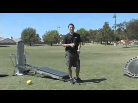 Sports Specific Total Gym Exercise  Golf   Back Swing