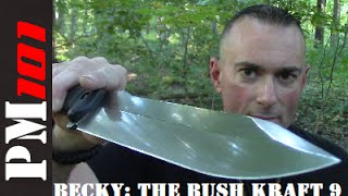 Becky the Bush Kraft 9: Big Blade Bushcraft Badassery  - Preparedmind101