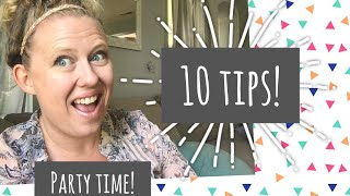 10 Party Tips! | Housewarming Party!