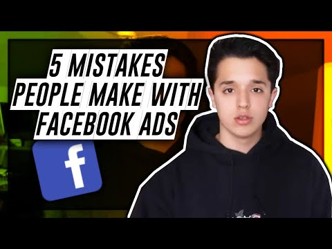 The 5 BIGGEST Facebook Ad Mistakes (Dropshipping)