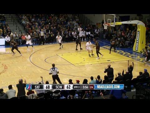 Highlights: Cameron Jones (22 points)  vs. the Skyforce, 11/25/2016