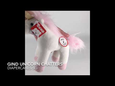 Gund Unicorn Chatters 6 Inches