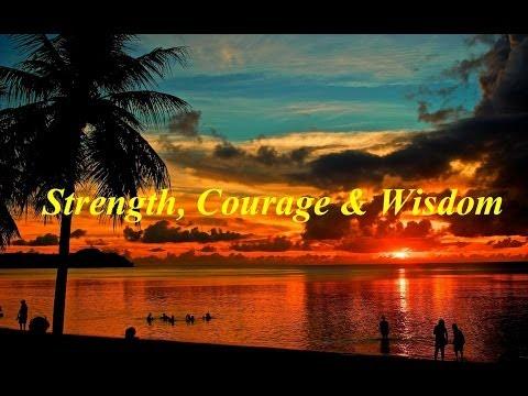 India.Arie - Instrumental - Strength, Courage & Wisdom (w/Lyrics on screen)