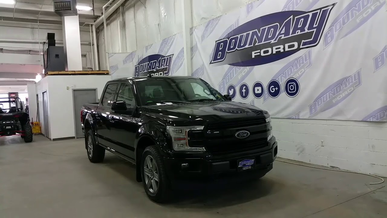 Lifted F150 2017 >> 2018 Ford F-150 SuperCrew Lariat Sport W/ Ecoboost, Leather, Sunroof Overview | Boundary Ford ...