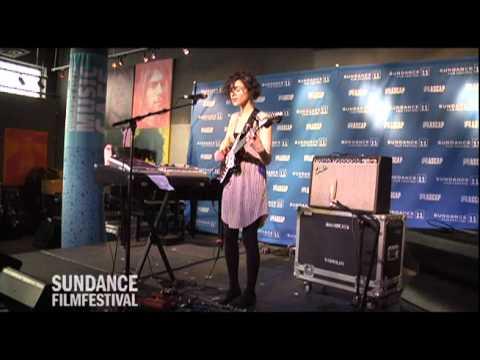 St. Vincent at the Sundance ASCAP Music Cafe