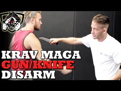Krav Maga Gun & Knife Defense Techniques