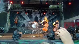 Apocalyptica - Seek & Destroy @Pioneerifestivaali