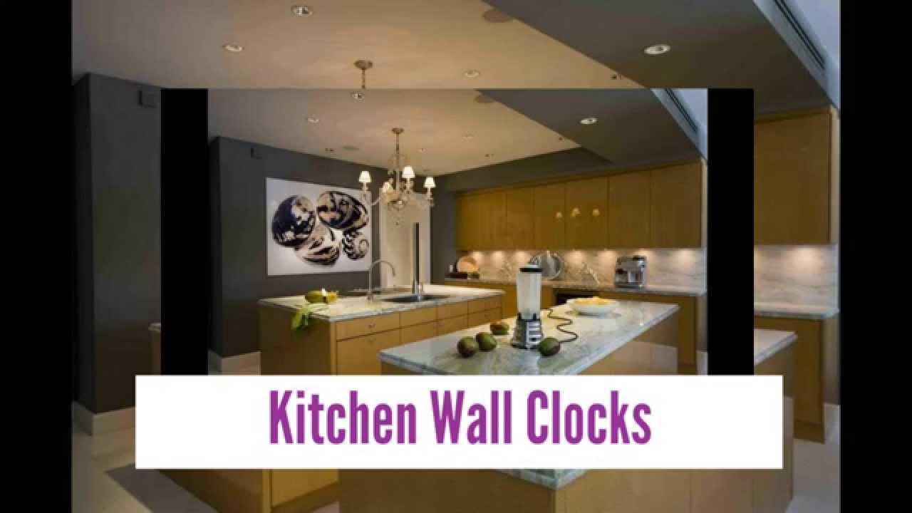 best kitchen wall clocks - youtube