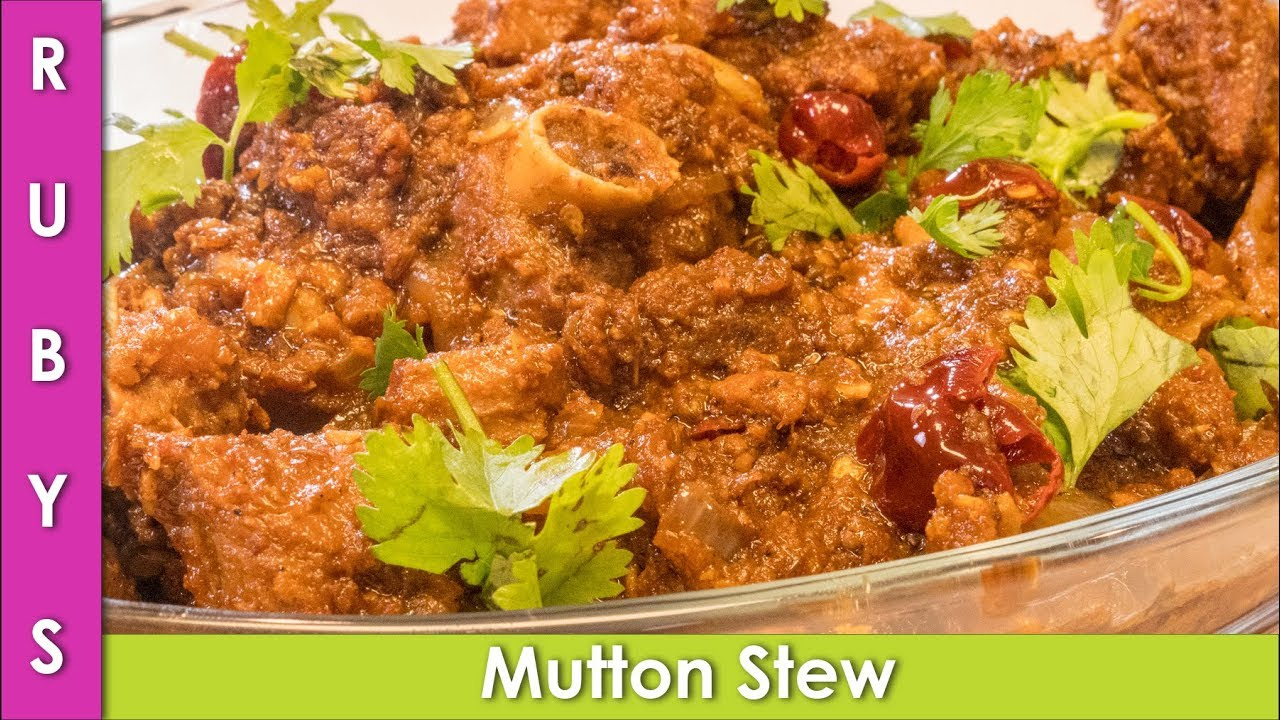 Mutton Stew Indian Pakistani Estew Recipe In Urdu Rkk Youtube