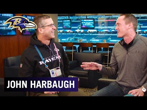 John Harbaugh 1-on-1 at the 2019 NFL Combine   Baltimore Ravens