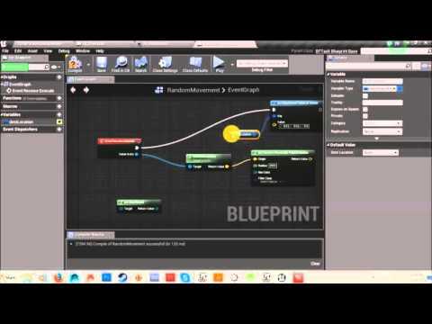 Unreal Engine 4 Tutorial - AI Random Movement/Chase Tutorial
