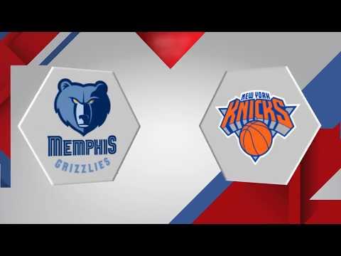 New York Knicks vs. Memphis Grizzlies - January 17, 2018