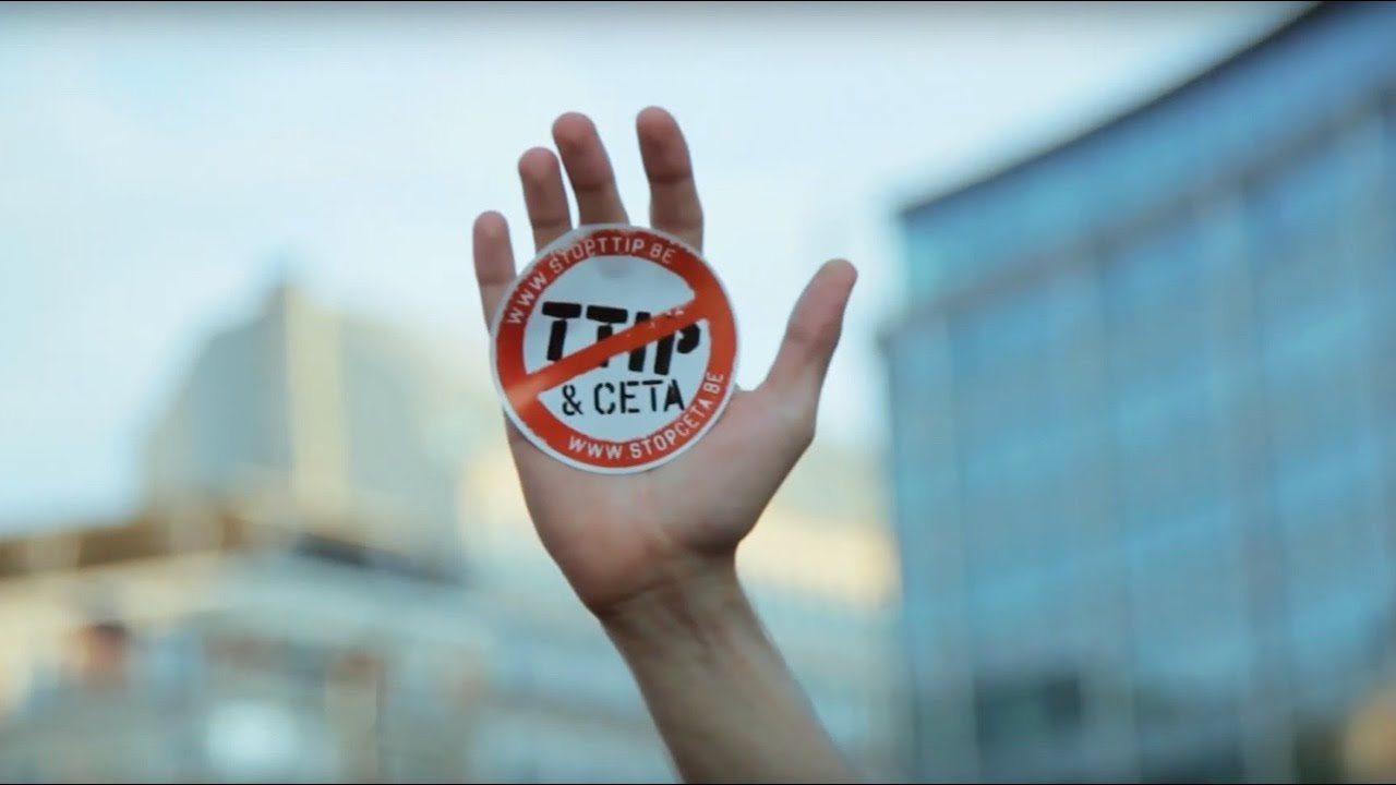 Day Of Action In Brussel 15000 Citizens Protest Against Ttip And Ceta