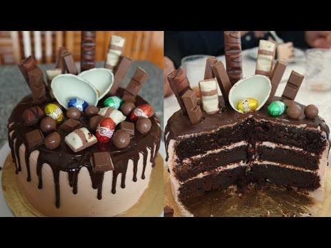 amazing-chocolate-cake-(with-kinder,-maltesers,-kit-kat-🍫)-recipe-|-em's-baking