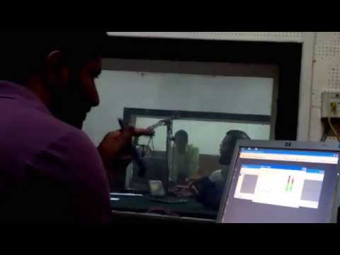 """Radio Kashmir"" Srinagar Radio Station  Live Interview Of Mohankumar Bhandari By Asfaq lon"