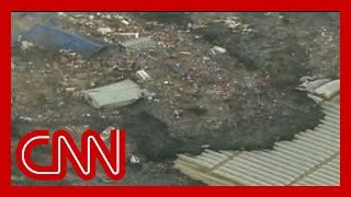 CNN: Entire towns engulfed by tsunami
