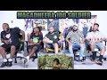 MAGADHEERA | 100 Soldier Fight Scene REACTION
