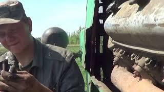 Ремонт трубки компрессора двигателя ЯМЗ-236 трактор Т-150К