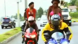 jahvin and bone - moto bike ride (official video) October 2012 dancehall
