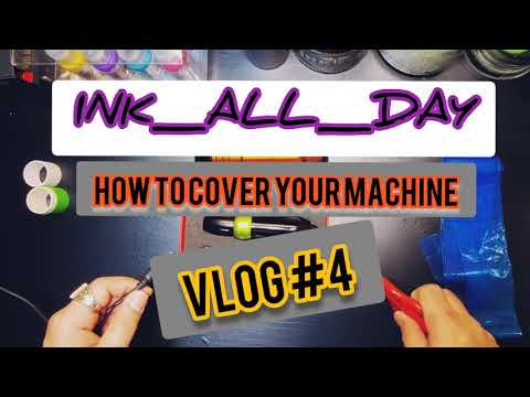 (tattoo Duty)....how To Wrap Ur Coil Machine(sunskin.. Brigante)