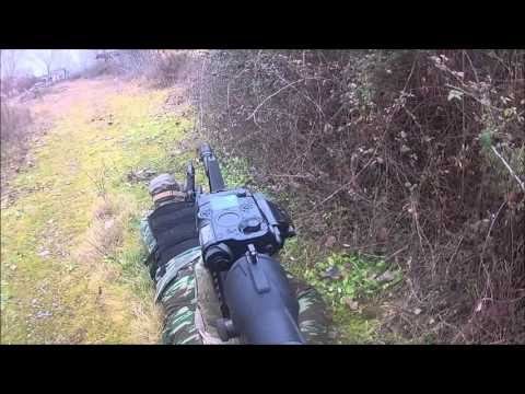 Airsoft War Game Action Greece Leptokaria