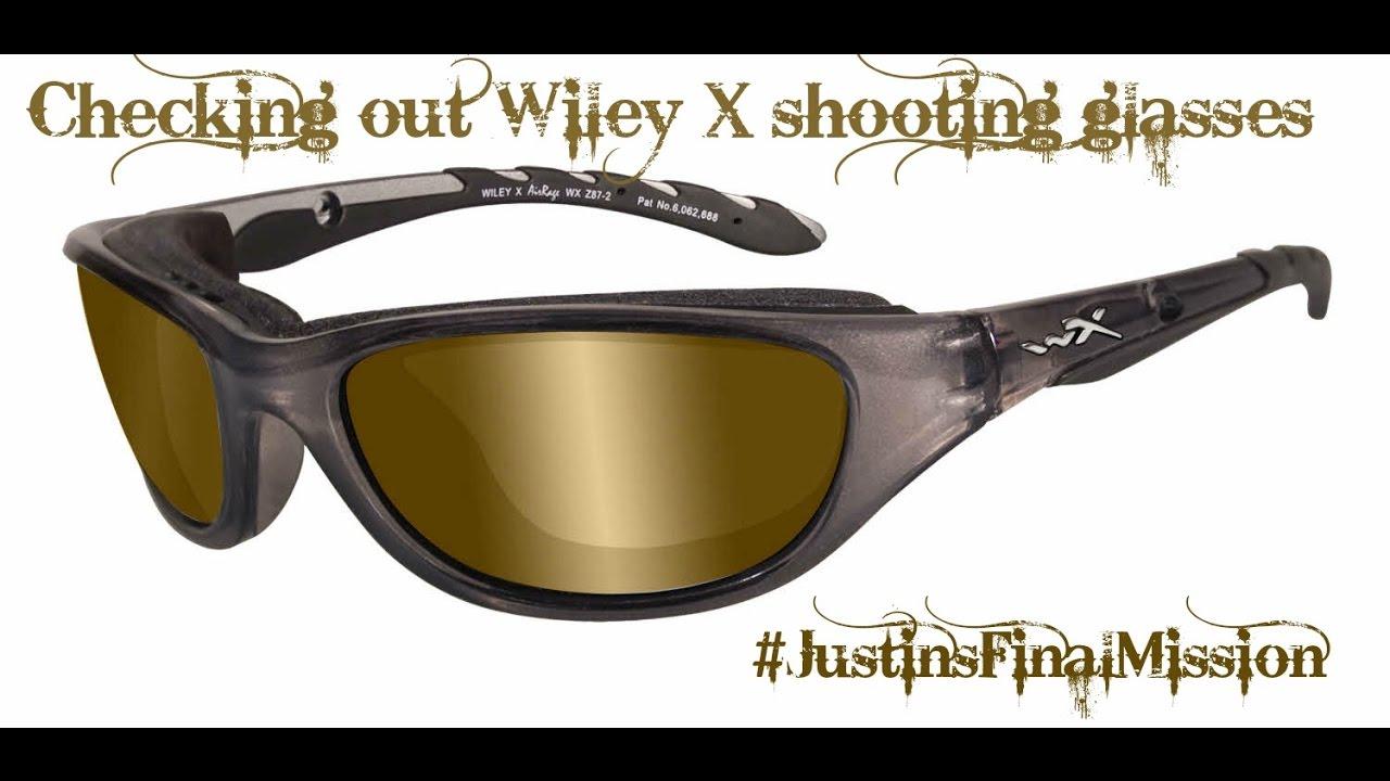 c7ad32ab6c Wiley X AirRage Prescription Shooting Glasses - YouTube