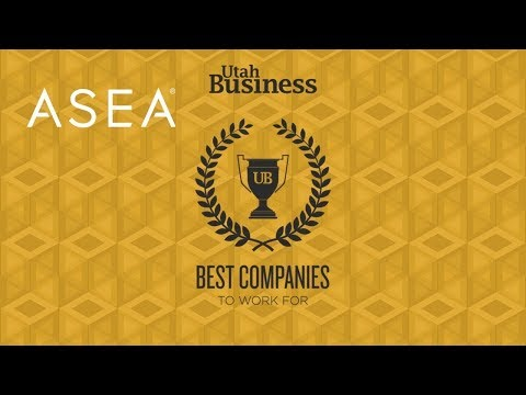 ASEA Utah Business Best Companies to Work For