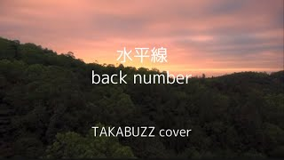 【MV】ギター弾き語り フル 水平線/back number(歌詞付)  TAKABUZZchannel #163