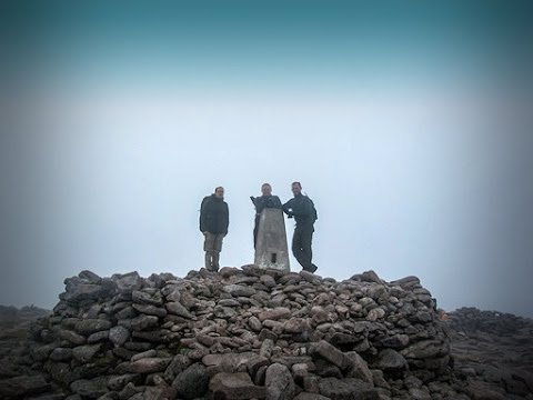 Hiking Ben Macdui and Derry Cairngorm from Braemar