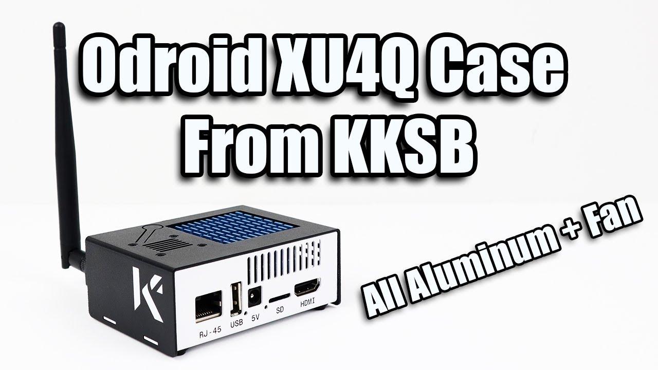 KKSB Odroid XU4Q Case with fan