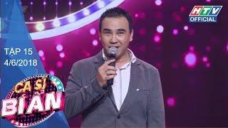 HTV CA SĨ BÍ ẨN 2 | Việt Hương là 'fan cứng' của Sơn Tùng M-TP | CSBA #15 FULL | 4/6/2018