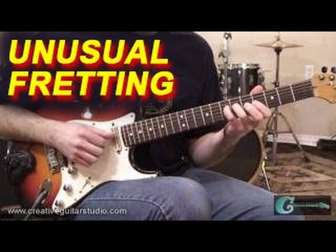 GUITAR TECHNIQUE: Practicing Unusual Fretting