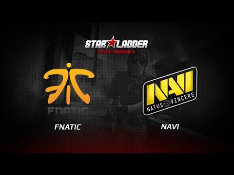 Fnatic vs NaVi Game 2 CS:GO SLTV S10