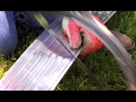 E Z Edge Aluminum Landscape Edging Installation Instructions Video