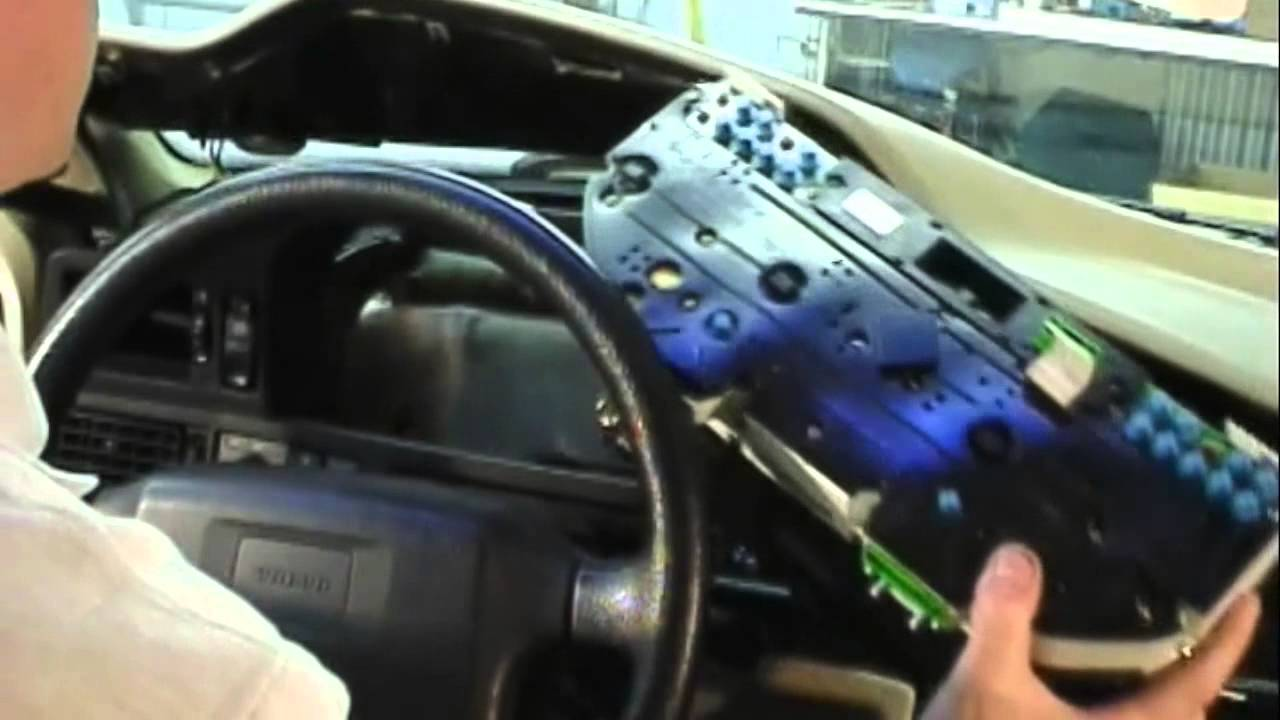 Ipd Volvo Instrument Cluster Lighting 850 Youtube Panel Lamp Dimmer Control