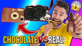 CHOCOLATE vs REAL | ¿Cuál es el VERDADERO?