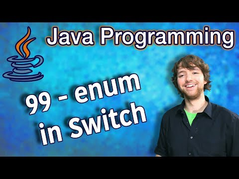 Java Programming Tutorial 99 - enum in Switch thumbnail