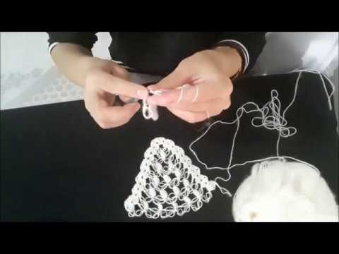 İNCİLİ GELİN ŞALI🤗 SÜSLÜ GELİNLERE ÖZEL 😊 Bridal Shawl Making