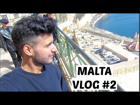 MALTA VLOG #2 - LOCKED inside Apartment, APARTMENT TOUR!, Malta Capital Valetta, Crazy BOMB Shelter!