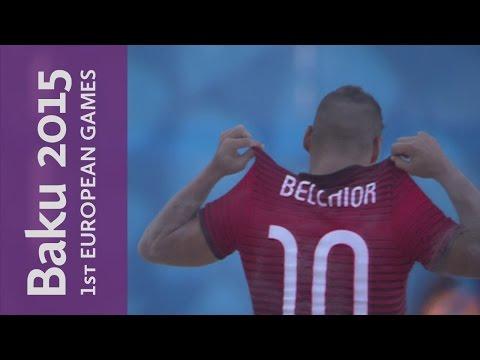 Portugal 6-5 Switzerland   Beach Soccer   Baku 2015 European Games