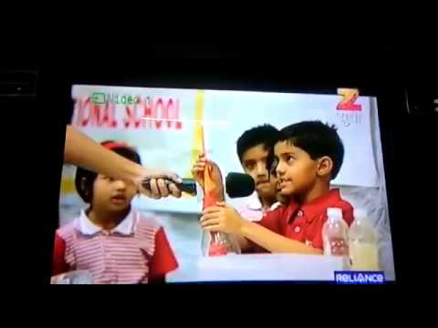 Amrut Vahini students making their learning visible on television