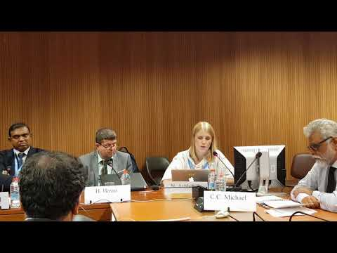 Side Event on Refugees Human Rights Crisis_Mrs. Ashleigh NEWNHAM - 14/03/2018