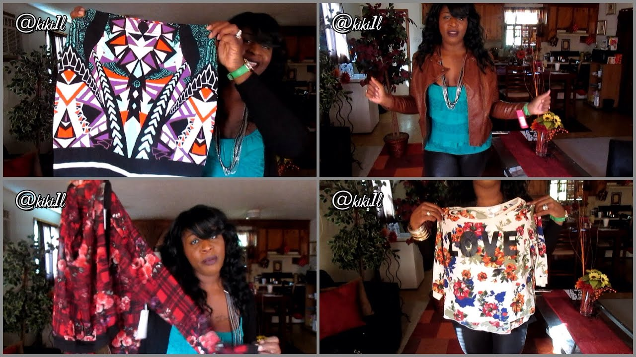 FASHION HAUL feat  IT S FASHION METRO   MORE   OCT 2014   YouTube