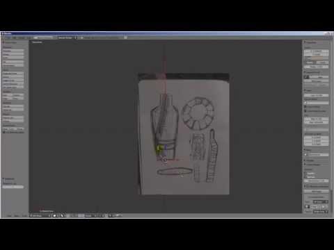 Blender + Pepakura (Vaso in Cartone)