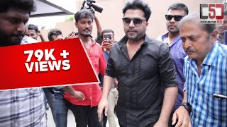 STR Simbu Mass Entry  AAA Movie Launch 1St Day and Opening of Kasi Theater | C5D